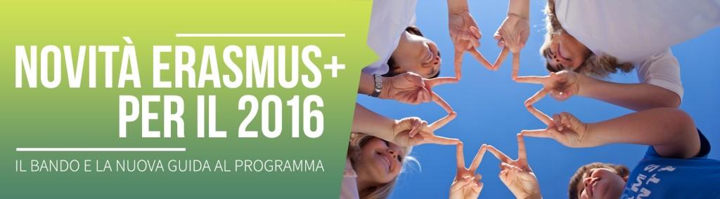 Erasmus Plus 2016: le principali novità nella nuova guida al programma
