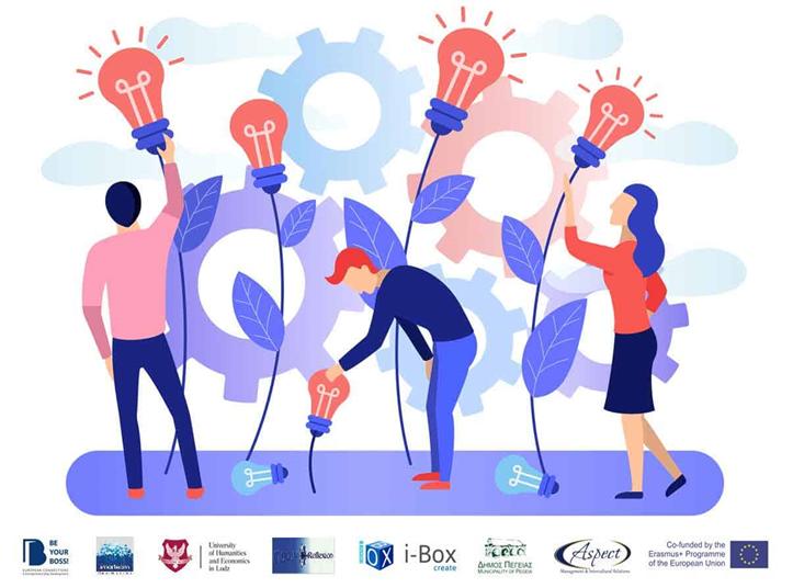 """Be your Boss"", imprenditori si diventa!  – Erasmus + Programme of the European Union"